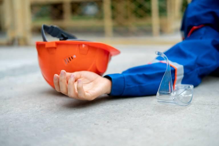 construction accident case